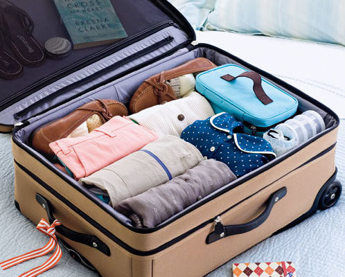 business trip packing